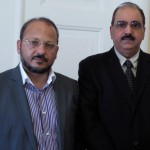 Morteza Damanpak Jami, the Ambassador of the Islamic Republic of Iran and raja Ghafoor afzal.md