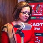 todays guest sarah liqat aapkiawaz