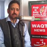 president of,ppp, m,qureshi addressing to community on waqt news